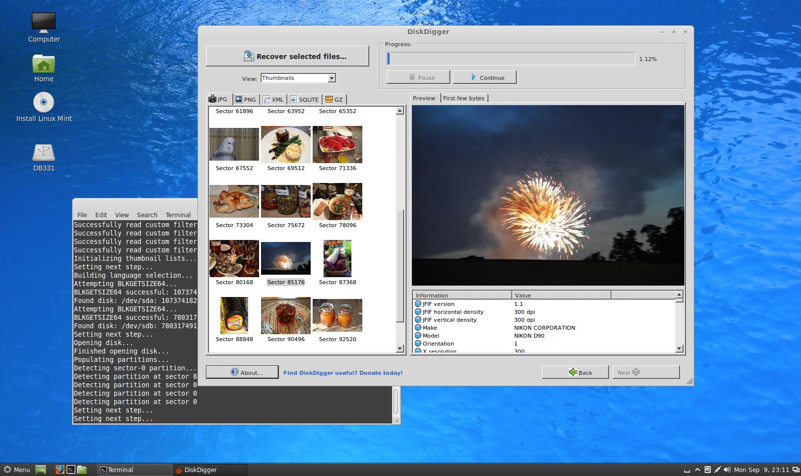 Running DiskDigger in Linux | DiskDigger